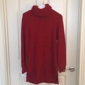 Tobi Knit Turtleneck Sweater Dress